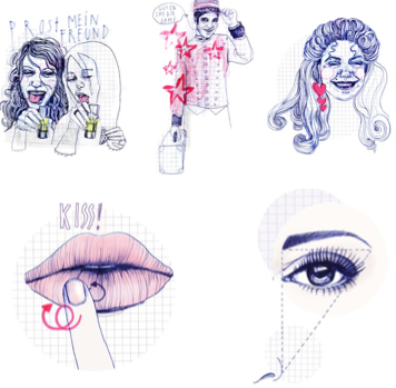 silke werzinger illustrationen