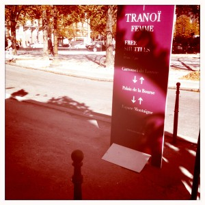 Tranoi Paris