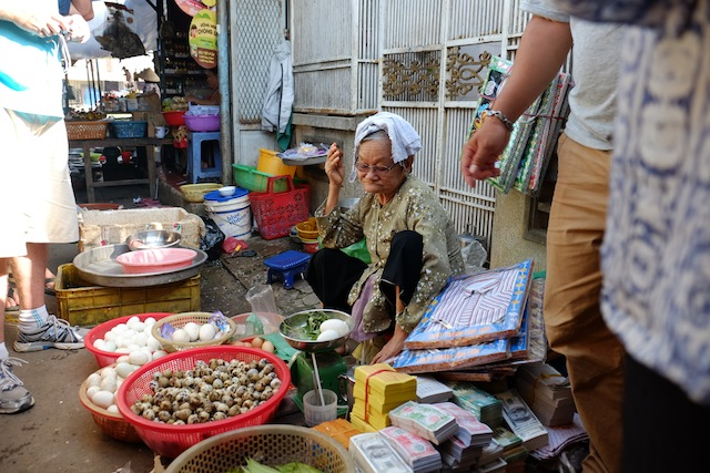 Markt Mekong Delta