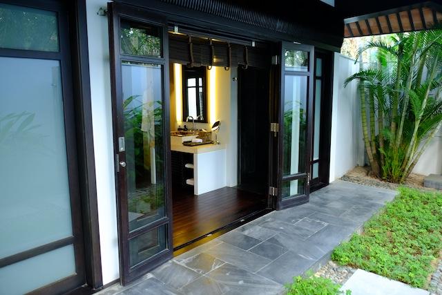 The Nam Hai Villa garden