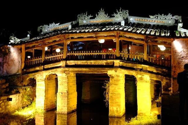 Chinesische Brücke Hoi An