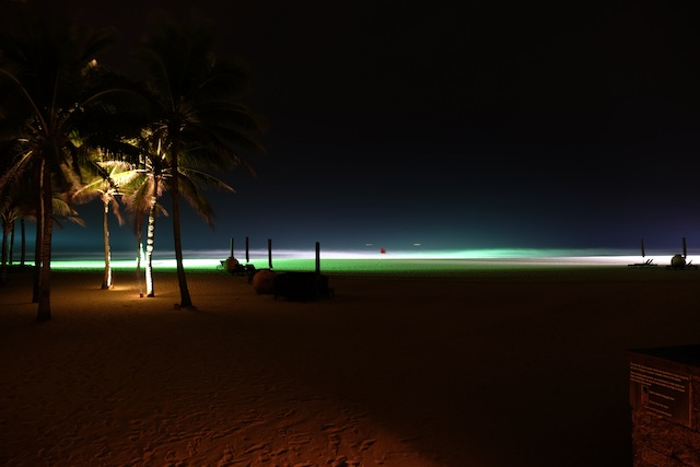 the Nam Hai Beach
