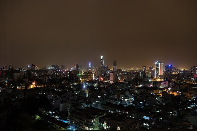 Ho Chi Minh City/ Saigon by night
