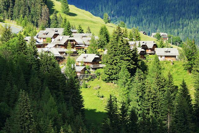 Dorfteil Fellacher Almdorf Seinerzeot