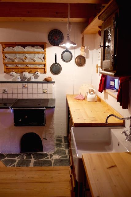 Küche Almdorf Seinerzeit