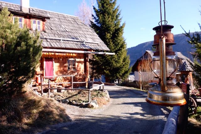Dorfteil Fellacher Almdorf Seinerzeit