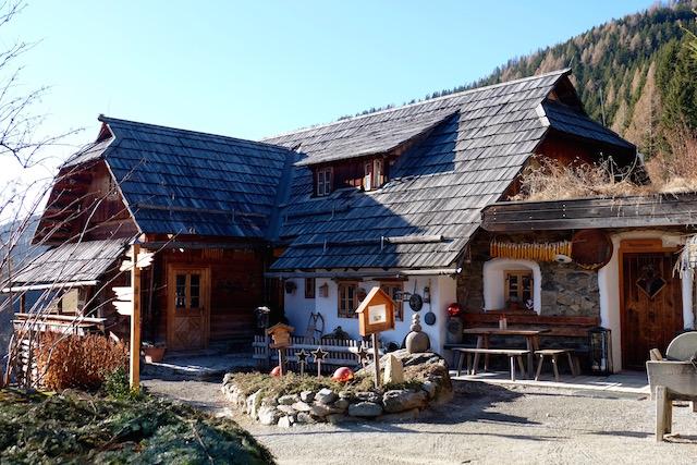 Die alte Rezeption im Dorfteil Fellacher