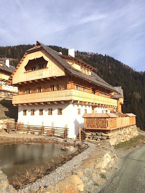 Bauernhaus Almdorf Seinerzeit