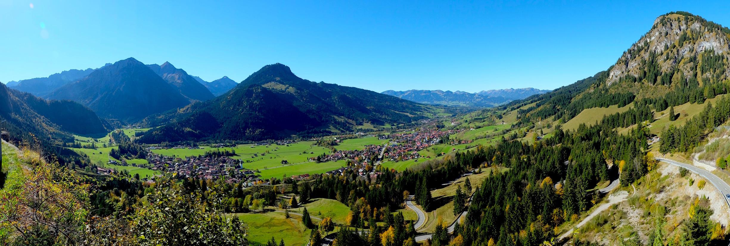 Panorama Oberjoch